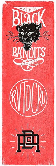 Lettering & Illustration for Rivet de Cru Jeans on Typography Served
