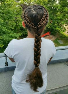 Heart (lace french braids )