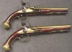 James Freeman Flintlock Pistol Set