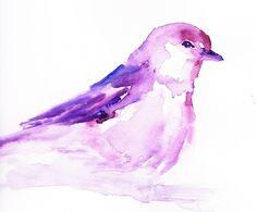 Watercolor paintings by Jessica Buhman