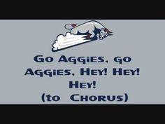 Utah State Aggies - fight song with words - Utah State Fight Song ( Robert this is for you!) go Aggies!
