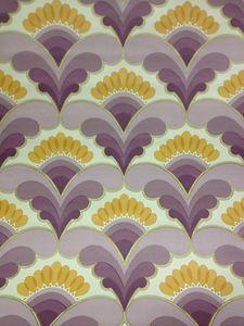 Vintage Wallpaper 50s 60s 70s Retro Eames Panton Liberty Textile *46 | eBay