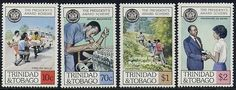 Youth prize 4v, Country: Trinidad & Tobago, Year: 1981, Product code: stnp0441, Nr. Michel: 441/44, Nr. Yvert: 445/48