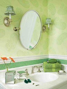 New green glass bathroom accessories at xx16.info