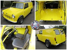 Mornin Miniacs We get the Saturday Stunner show rolling with a bloomin gorgeous Mini Van. Bright, bold & beautiful I reckon! Have a great day folks Classic Mini, Vans Classic, Minivan, Have A Great Day, Camper, Weird, Trucks, Bright, Posts