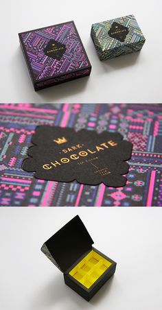 Dark Chocolate Truffle Packaging