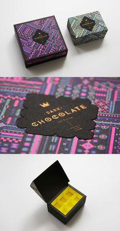 Dark Chocolate Truffle Packaging