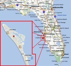 Anna Maria Island Florida Restaurant Map   Anna Maria Island FL