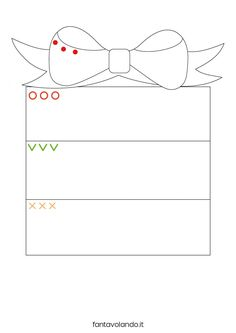 Christmas Worksheets, Christmas Activities For Kids, Winter Crafts For Kids, Art For Kids, Printable Preschool Worksheets, Preschool Activities, Christmas Ornament Template, Herve, Diy Toys