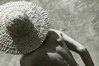 Nude in Straw Hat, Martin Munkácsi, 1944 Silver gelatin prin