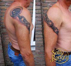 realistic ship chain tattoo Chain Tattoo, Sally, Ship, Ink, Tattoos, Tatuajes, Tattoo, Ships, India Ink