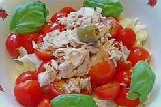 Tomatensalat mit Thunfisch (Rezept mit Bild) von weihnachtsmolly | Chefkoch.de