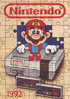 Mario Old-school Puzzle