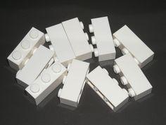 LEGO 10 White Bricks 1 x 3 75052 #LEGO