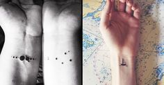 These sweet, small, and subtle wrist tattoos will tickle your inner minimalist.