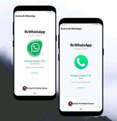 WhatsUp Themes » DOWNLOAD RC-YOWA 7.81 ATUALIZADO, Download RC-YOWA APK Atualizado Whatsapp Apk, Whatsapp Plus, Material Design, Tema Iphone, Ios, Download, Geek Stuff, Technology, Ui Design