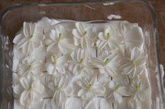 Jasmine sambac enfleurage. One of my favorite flowers!