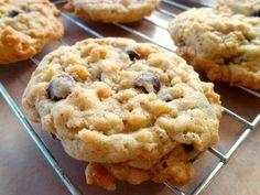 rice krispie chocolate chip cookies | The Baking Fairy