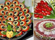 24 nejlepších zimních polévek, které vás zahřejí a zasytí! Crudite, Relish Trays, Romanian Food, Chicken Strips, Party Buffet, Food Decoration, Food Art, Sushi, Watermelon