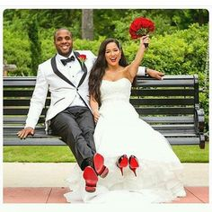 Louboutins  Photo via @miguelwilsoncollection #louboutins #bride #groom #groominspiration #bridalinspiration #weddings