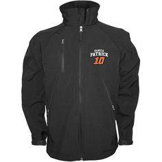 Danica Patrick Checkered Flag  Soft Shell Full Zip Jacket – Black - $59.99