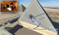 Two mysterious 'cavities' are uncovered in the Great Pyramid of Giza #DailyMail