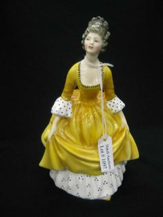 """Royal Doulton Porcelain Figurine """"Coralie"""""""