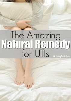 Do you tend to get urinary tract infections easily? This all-natural remedy for UTIs can effectively treat bladder infections at HOME and save you the pain and hassle of doctor appointments, testing, and antibiotics! (It's not cranberry juice!) #utiremedies #utihome