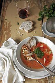 Gray triggerfish soup