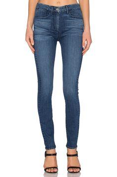 3X1 CHANNEL HIGH RISE SKINNY. #3x1 #cloth #dress #top #shirt