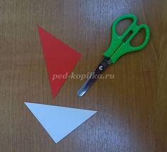 Объёмная аппликация из бумаги для школьников 4-5 класса: Белочка. Мастер-класс с пошаговыми фото