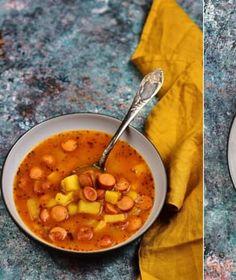 Husté, syté polévky prohlašujeme za nejlepší pokrm k večeři, zvlášť v zimním období. Chana Masala, Ethnic Recipes, Food, Essen, Meals, Yemek, Eten