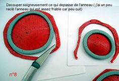 Clay Bezels. Polymer Clay Bezel Tutorial. In French. num8