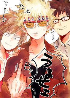 Boku no Hero Academia    Mitsuki Bakugou, Katsuki Bakugou, Masaru Bakugou.