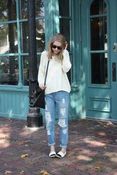 boyfriend jeans.. casual look
