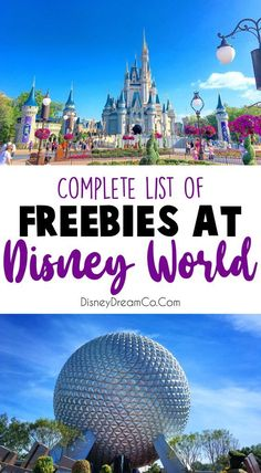 Free Things at Disney World- With Pintable Checklist! - Disney Dream Co