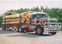 Big Rig Trucks, Semi Trucks, Cool Trucks, Model Truck Kits, Logging Equipment, Road Train, Paint Schemes, Kiwi, Vehicles