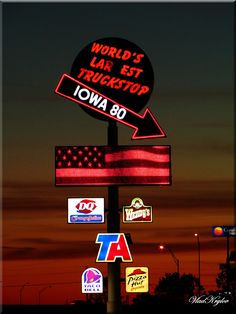 Iowa 80!!! The World's Largest Truck Stop.