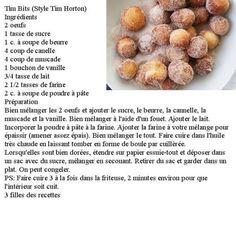 Photo: Tim Bites (Style Tim Horton) source: 3 Filles des recettes!