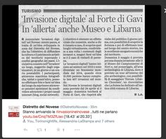 #invasionidigitali Press Release, Event Ticket, Turismo