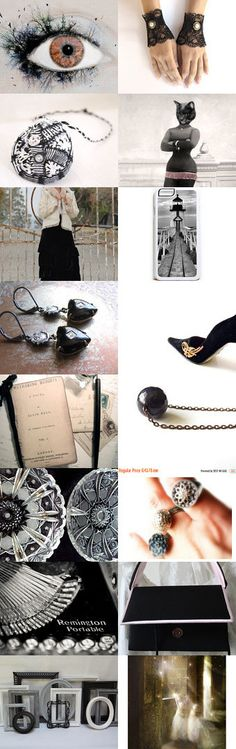 Black and white by Roberta Aiello on Etsy--Pinned with TreasuryPin.com