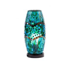 On sale for $18.74 - pretty Turquoise Mosaic uplight
