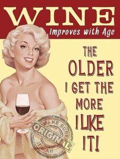 Yep. I love getting older. Haha