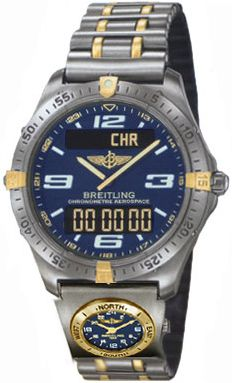 Breitling Aerospace 226 UTC Blue
