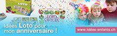 Le jeu du #loto est toujours très apprécié des #enfants ! Pensez à prévoir des petits #cadeaux pour les #gagnants.