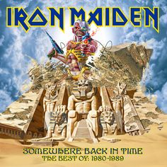 """Iron Maiden """"Somewhere Back In Time"""" album"""