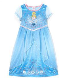 Blue Cinderella Fantasy Nightgown