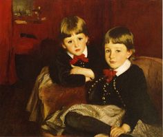 The Sons of Mrs.Malcolm Forbes 1887-88. John Singer Sargent