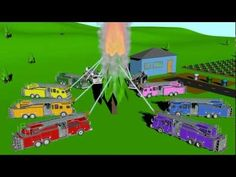 f is for firetruck, Firetruck Colors - Learning for Kids