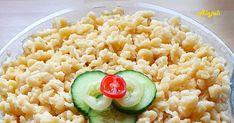 Alajuli: Nokedli Grains, Rice, Food, Essen, Meals, Seeds, Yemek, Laughter, Jim Rice